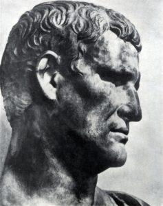 Портрет Агриппы. Мрамор. Начало 1 в. н. э. Париж. Лувр.