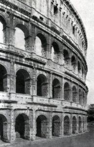 Колизей (амфитеатр Флавиев) в Риме. 75—82 гг. н. э