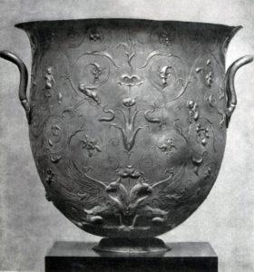 Серебряный сосуд из Гильдесгеймского клада. 1 в. н. э. Берлин