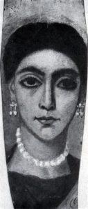 Портрет молодой женщины из Фаюма. 1 в. Страсбург. Университет