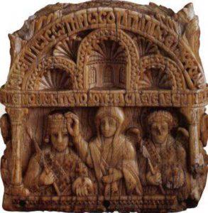 Навершие скипетра с изображением Льва VI. Берлин
