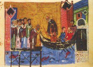 Отъезд Григория Назианзина из Константинополя