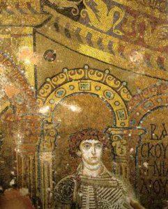 Св. Василиск. Ротонда св. Георгия в Фессалонике