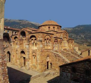 Фокида (Греция). Монастырь Хосиос Лукас