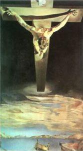 Христос св. Иоанна на кресте («Христос Сан Хуан де ла Крос»). 1951