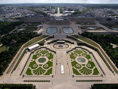 Ансамбль Версаля: архитектурная история