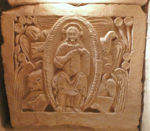 Деталь саркофага св. Ажильбера в Жуарре