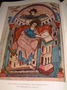 Евангелие Ады. 195. Евангелист Матфей