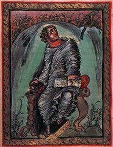 Евангелие Эббо. Св. Марк