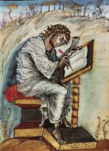 Евангелие Эббо. Св. Матфей