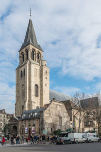 Колокольня церкви Сен-Жермен-де-Пре