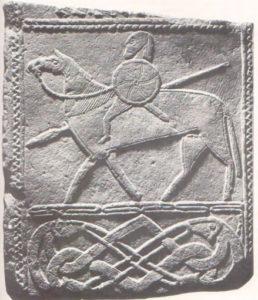 Стела из Хорнхаузена, ок. 700 г. Халле, Музей доисторических культур