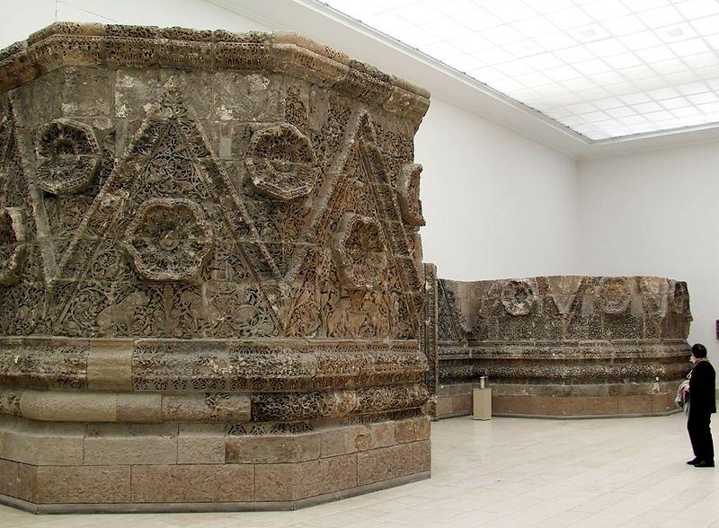 Фриз из Мшатты в Пергамском музее Берлина