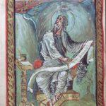 Эббо. f. 134v.Евангелист Иоанн