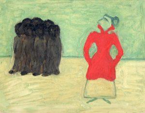 Волдемар Матвей. Красное и черное. 1913