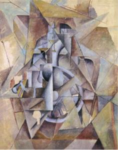К. Малевич. Швейная машинка. 1913
