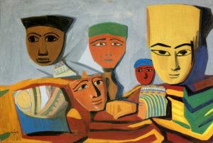 М. Сарьян. Египетские маски. 1911