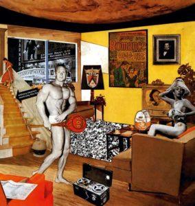 Ричард Гамильтон. Так что же делает наши сегодняшние дома такими разными, такими привлекательными?, 1956