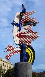 Рой Лихтенштейн. Барселонская голова