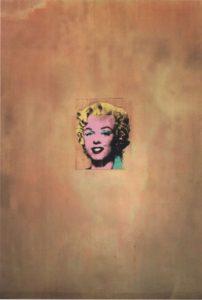 Энди Уорхол. Золотая Мэрилин Монро. 1962
