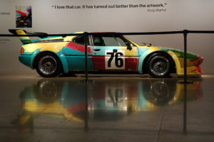 BMW M1, дизайн раскраски Уорхола