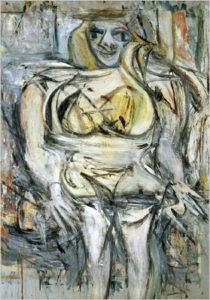 Виллем де Кунинг. Женщина III, 1953, частная коллекция