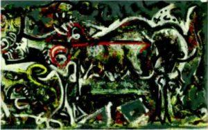 Джексон Поллок. Волчица. 1943