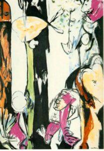 Джексон Поллок. Пасха и Тотем. 1953