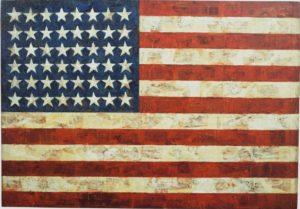 Джаспер Джонс, «Флаг», 1954