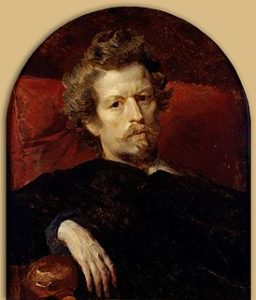 Брюллов К.П. Автопортрет (1848). Москва, Государственная Третьяковская галерея