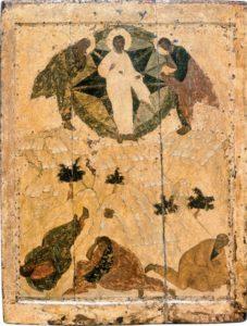 Преображение. Первая треть XV в. Из праздничного ряда иконостаса Благовещенского собора Московского Кремля