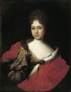 Царевна Прасковья Ивановна, 1714, Государственный Русский музей