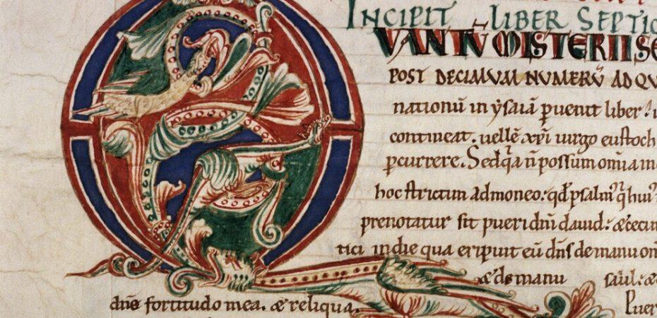 Комментарии к Исайе (к. XI в., Жюмьежское аббатство \ Бодлеанская библиотека, Ms.Bodl.717)
