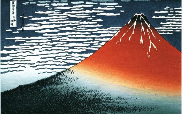 Творчество Хокусая и японская гравюра школы «Укиё-э»