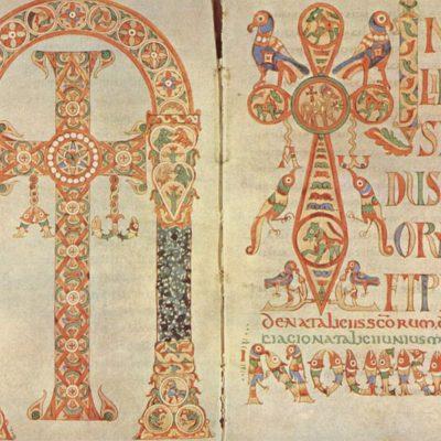 Иллюстрированная книга в контексте монастырской культуры эпохи Меровингов