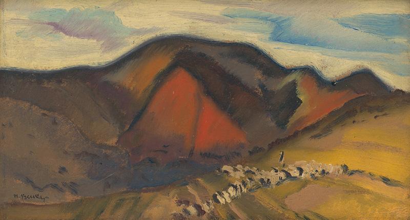 Martin Benka - Pod Rokytnom 1929
