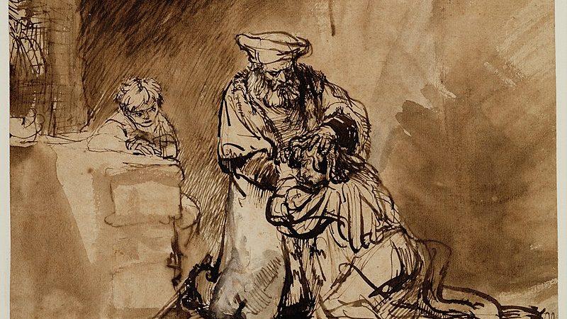 Рембрандт. Возвращение блудного сына. Санкт-Петербург. Государственный Эрмитаж. 1664 г.