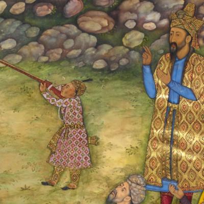 Могольская школа индийской миниатюры