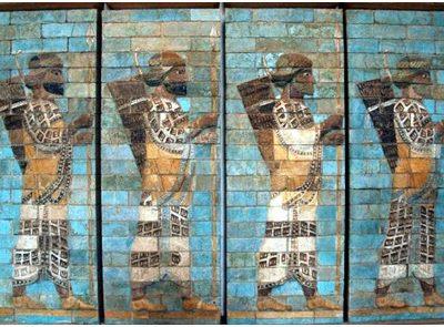 Мотив шествия в рельефах Пересполя и Сузов