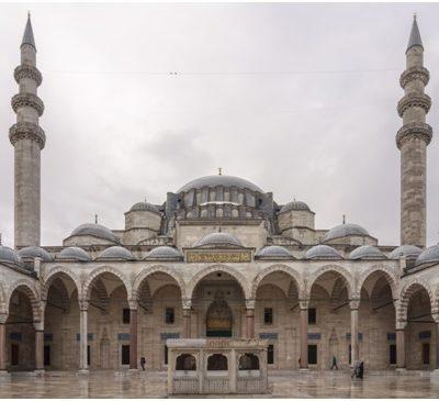 Развитие типа центрально-купольного сооружения в странах Арабского Востока и Ирана. От мечети  Куббат-ас-Сахр («Купол Скалы») в  Иерусалиме (687 – 691) до мавзолея султана Олджейту (1307 – 1313)