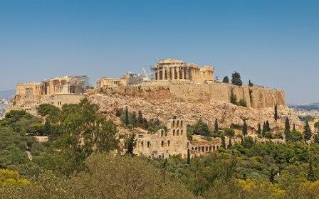 Архитектурный ансамбль Акрополя в контексте эволюции древнегреческого зодчества V века
