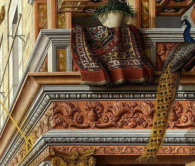 Карло Кривелли. «Благовещение со Святым Эмигдием (Эмидием)» 1486 г.