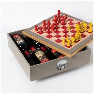 Винные шахматы Art Russe – суперприз  турнира претендентов ФИДЕ