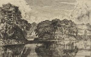 Черные острова Лох-Эве, Хамертон, 1875