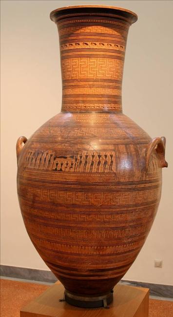 Тенденция развития изображения ног в древнегреческой вазописи
