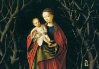 Arten von Madonnen Bild im Mittelalter