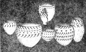 Глиняная посуда, неолит, 7-3 тысячелетие до н. э.