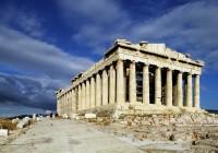 Die Akropolis im 7. Jahrhundert v. Chr.