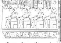 Особенности египетской архитектуры Среднего царства