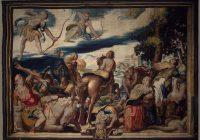 «Гибель детей Ниобы» — римский рельеф по греческому оригиналу V века до н.э. и французская шпалера по картону Туссена Дюбрейля/ Сравнительный анализ.
